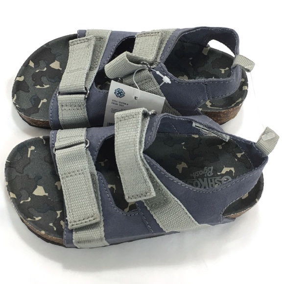 d402c00439f4 ⬇  32 Oshkosh Bgosh Sandals Gray Camo Kids Toddler